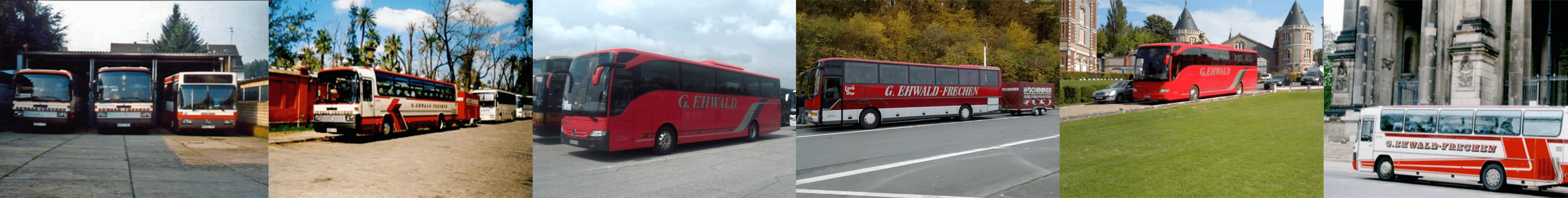 Busreise nach Berlin, Köln und London.
